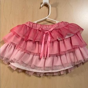 Girls frilly ombré tutu